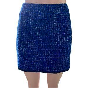 J. Crew Boucle Tweed Postage Stamp Mini Skirt 2